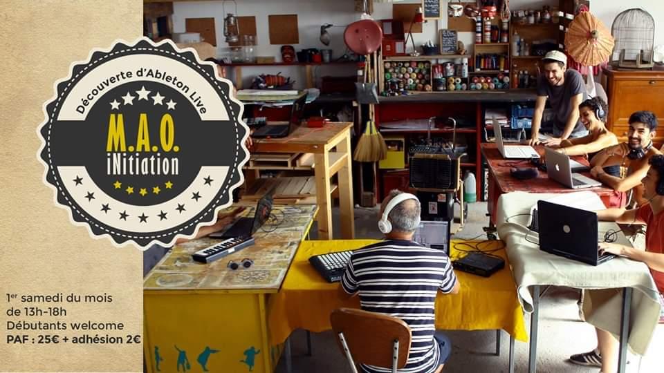 MAO - atelier d'initiation autour d'ableton live